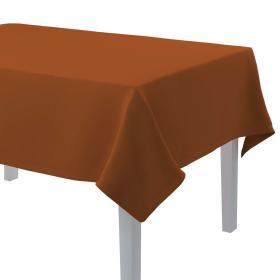 Dekoria.pl Obrus prostokątny, rudy, 130 × 210 cm, Cotton Panama
