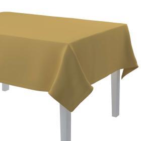 Dekoria.pl Obrus prostokątny, zgaszony żółty, 130 × 280 cm, Cotton Panama