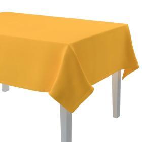 Dekoria.pl Obrus prostokątny, żółty, 130 × 180 cm, Loneta