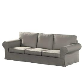 Dekoria.pl Pokrowiec na sofę Ektorp 3-osobową, nierozkładaną, beżowy melanż, 218 x 88 x 73 cm, Madrid