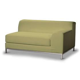 Dekoria.pl Pokrowiec na sofę prawostronną Kramfors 2-osobową, oliwkowy a'la zamsz, Sofa Kramfors, Living
