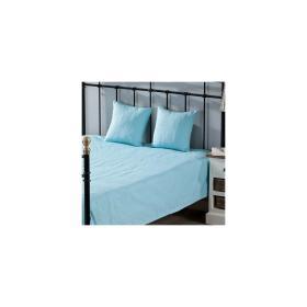 Dekoria.pl Komplet Milena turquoise 260 x 260 cm pled + 2 poszewki -50%, 260 × 260 cm