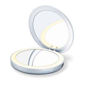 Podświetlane lusterko kosmetyczne z powerbankiem Beurer BS 39