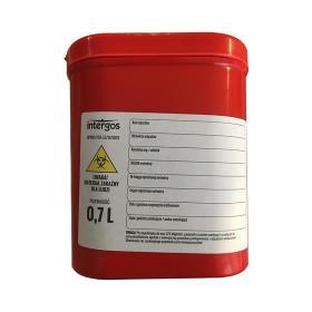 Pojemnik na odpady medyczne Intergos o pojemności 700 ml