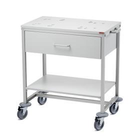 Stolik mobilny do wag niemowlęcych z szufladą