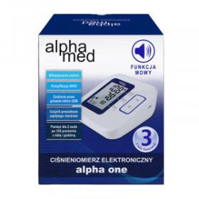 Ciśnieniomierz elektroniczny ALPHAMED ALPHA ONE 1 szt.
