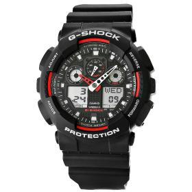Zegarek Męski CASIO G-SHOCK GA-100-1A4ER 20 Bar Do nurkowania