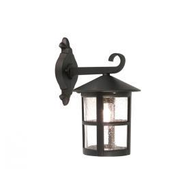 Lampa zewnętrzna latarnia naścienna kinkiet ogrodowa czarna duża