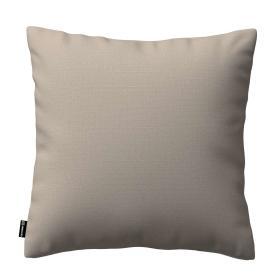 Dekoria.pl Poszewka Kinga na poduszkę, ciepły szary, 43 × 43 cm, Living