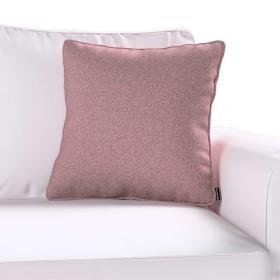 Dekoria.pl Poszewka Gabi na poduszkę, różowy z czarną nitką, 45 × 45 cm, Amsterdam