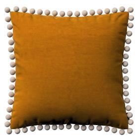Dekoria.pl Poszewka Wera na poduszkę, miodowy, 45 × 45 cm, Velvet