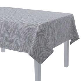 Dekoria.pl Obrus prostokątny, szare wzory geometryczne, 130 × 250 cm, Sunny