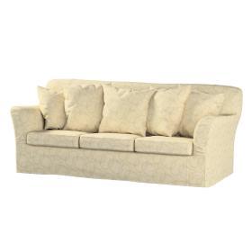 Dekoria.pl Pokrowiec na sofę Tomelilla 3-osobową nierozkładaną, geometryczny wzór na kremowym tle, 194 x 80 x 76 cm, Living