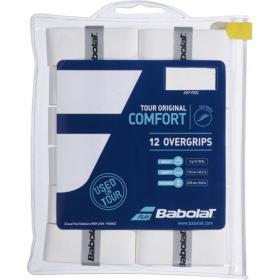 Owijki Babolat Tour Original Comfort Białe 12szt.