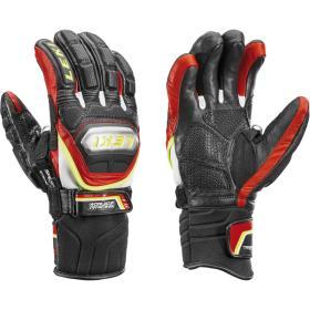 Rękawice LEKI WCR Titanium S Speed System red : Rozmiar - 6.5