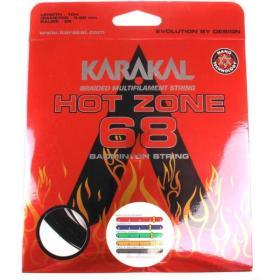 Naciąg Karakal Hot Zone 68 : Wariant - Pomarańczowe