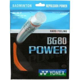 Naciąg Yonex BG 80 Power Pomarańczowy