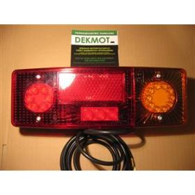 WE 551DP lampa tylna zespolona LED 12-24V