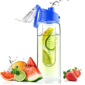 Asobu stylowa butelka z Flavour It z zaparzaczem, 0,6 niebieska, BEZPŁATNY ODBIÓR: WROCŁAW!
