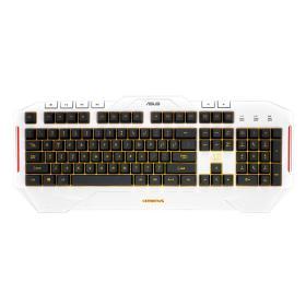 Asus klawiatura Cerberus Arctic Gaming Keyboard, BEZPŁATNY ODBIÓR: WROCŁAW!