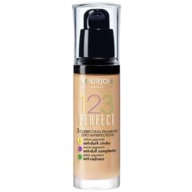 Bourjois Make-up dla doskonałego skóry SPF 10 (123) 30 ml Idealny (cień 55 Beige Foncé), BEZPŁATNY ODBIÓR: WROCŁAW!