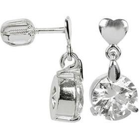 Brilio Silver Srebrne kolczyki z dużym kryształem 436 001 00 409 04 - 3,26 g srebro 925/1000, BEZPŁATNY ODBIÓR: WROCŁAW!