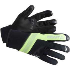 Craft rękawice rowerowe Shelter Black/Yellow M, BEZPŁATNY ODBIÓR: WROCŁAW!