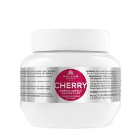 Kallos Delikatny nawilżający Maska do włosów z wiśniami i witamin (Cherry Hair Conditioning Mask) (objętość, BEZPŁATNY ODBIÓR: WROCŁAW!