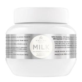 Kallos Maska z białek mleka na mleko suche i uszkodzonych włosów (włosów maska z białka mleka) (objętość , BEZPŁATNY ODBIÓR: WROCŁAW!