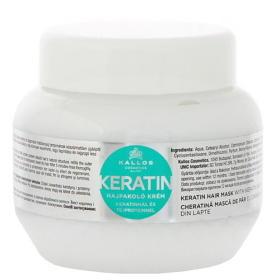 Kallos Regenerujące włosów Maska z białek keratynowych i mleka (maska) keratyny (objętość 275 ml), BEZPŁATNY ODBIÓR: WROCŁAW!