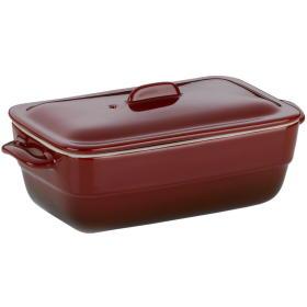 Kela ceramiczna brytfanna MALIN, 21 x 10 cm, czerwona, BEZPŁATNY ODBIÓR: WROCŁAW!