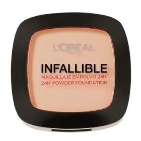 Loreal Paris Zwarty proszek o naturalnym wyglądzie skóry niezawodnie 24h (proszek Foundation) 9 g (cień 123 Warm , BEZPŁATNY ODBIÓR: WROCŁAW!
