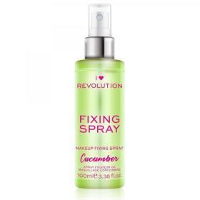 Makeup Revolution ( Cucumber Fixing Spray) 100 ml, BEZPŁATNY ODBIÓR: WROCŁAW!