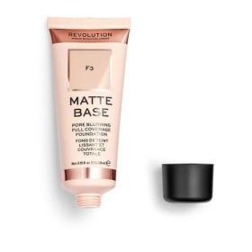 Makeup Revolution (Matte Base Foundation) 28 ml (cień F3), BEZPŁATNY ODBIÓR: WROCŁAW!