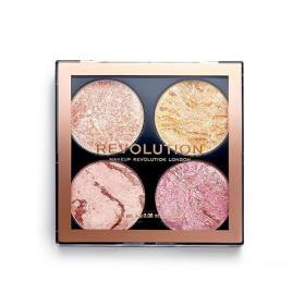 Makeup Revolution Paleta zestawów policzkowych 8,8 g (cień Fresh Perspectiv), BEZPŁATNY ODBIÓR: WROCŁAW!