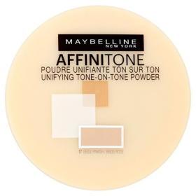 Maybelline Kompaktowy proszek jednoczący Affinitone (Powder) 9 g (cień 17 Rose Beige), BEZPŁATNY ODBIÓR: WROCŁAW!