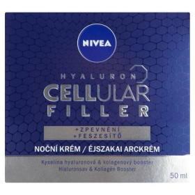 Nivea Krem wypełniający na noc Hyaluron Cellular Filler 50 ml, BEZPŁATNY ODBIÓR: WROCŁAW!
