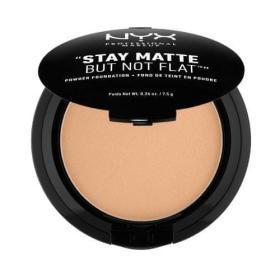 NYX Stay Matte But Not Flat (Powder Foundation) 7,5 g (cień 08 Golden Beige), BEZPŁATNY ODBIÓR: WROCŁAW!
