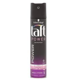 Taft Cashmere do włosów Power Cashmere Mega Strong 5 ( Hair Spray) Cashmere do ( Hair Spray) 250 ml, BEZPŁATNY ODBIÓR: WROCŁAW!