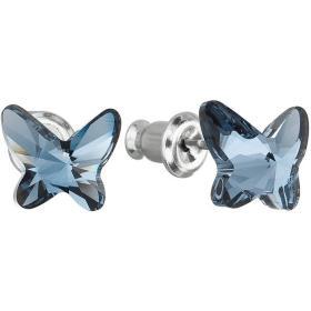 Troli Kolczyki Butterfly Denim Blue, BEZPŁATNY ODBIÓR: WROCŁAW!