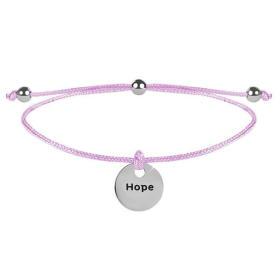 Troli Šňůrkový bransoletka Hope Pink / Steel, BEZPŁATNY ODBIÓR: WROCŁAW!