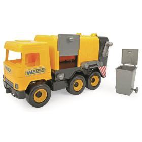 Wader Auto middle Truck śmieciarka żółta, BEZPŁATNY ODBIÓR: WROCŁAW!