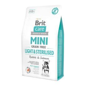 Brit karma z królika dla miniaturowych ras Care Mini Grain Free Light & Sterilised 2 kg , BEZPŁATNY ODBIÓR: WROCŁAW!
