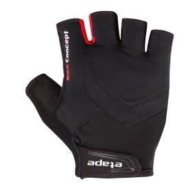 Etape męskie rękawiczki rowerowe Supra, czarne S, BEZPŁATNY ODBIÓR: WROCŁAW!