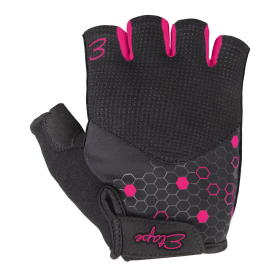 Etape rękawiczki rowerowe damskie Betty, czarno-różowy M, BEZPŁATNY ODBIÓR: WROCŁAW!
