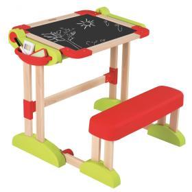 Smoby drewniany stolik 2 w 1, BEZPŁATNY ODBIÓR: WROCŁAW!