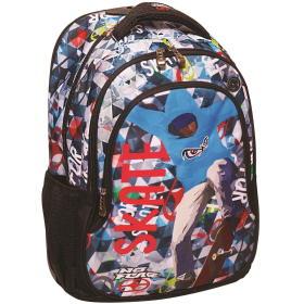 Back Me Up plecak No Fear Color Skate, BEZPŁATNY ODBIÓR: WROCŁAW!
