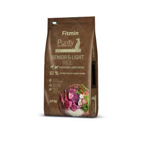 Fitmin sucha karma dla psa Dog Purity Rice Senior & Light Venison & Lamb 12 kg, BEZPŁATNY ODBIÓR: WROCŁAW!
