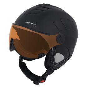 Mango kask narciarski Volcano Pro, czarny, 53 - 55, BEZPŁATNY ODBIÓR: WROCŁAW!