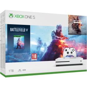 Microsoft konsola do gier Xbox One S 1TB + Battlefield V Deluxe Edition, BEZPŁATNY ODBIÓR: WROCŁAW!